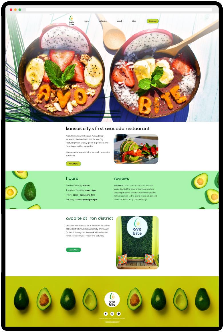 Avobite Website Development