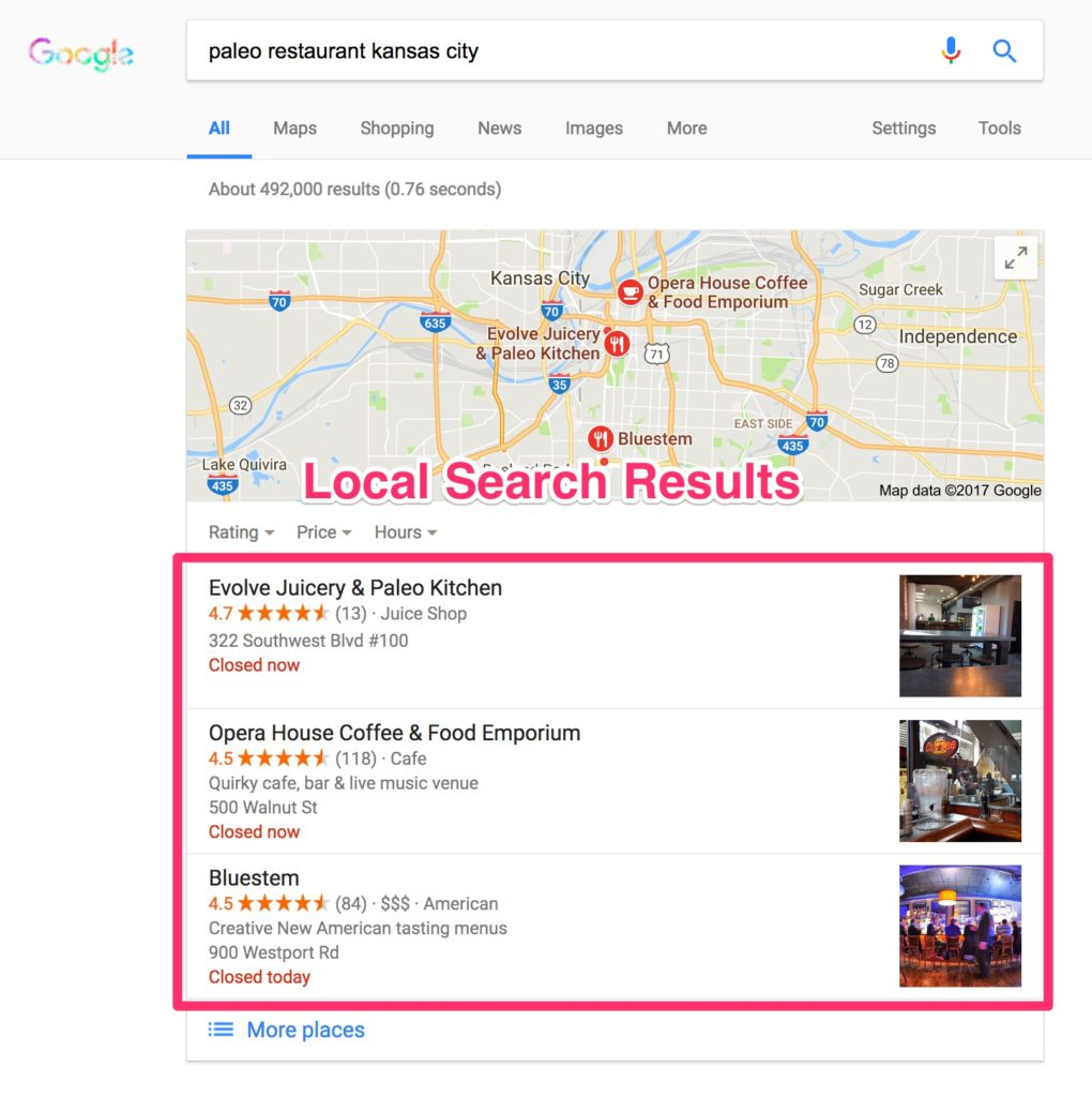 Local Listing Search