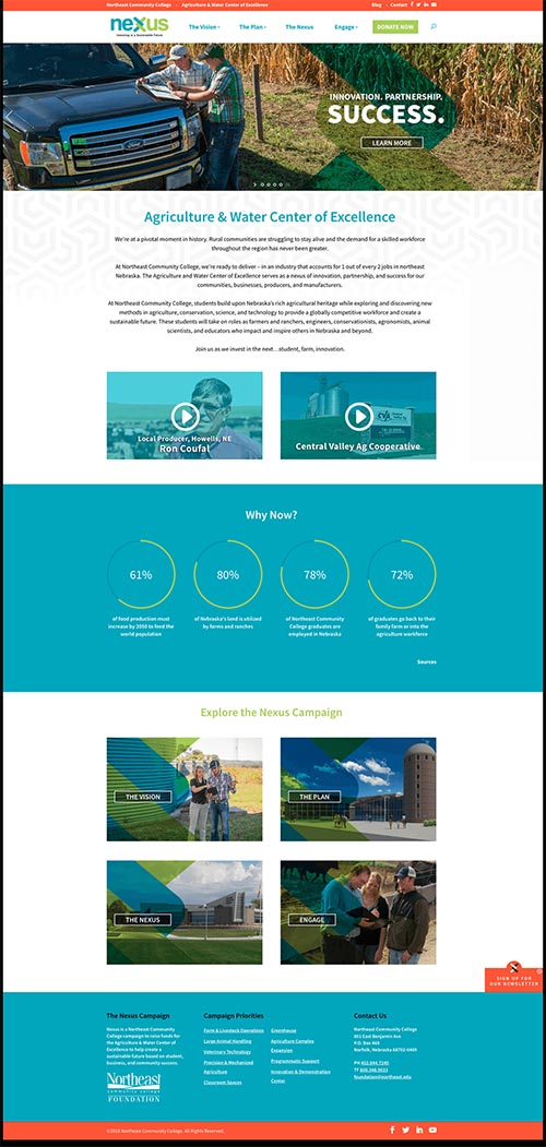 Nonprofit Website Example Preview