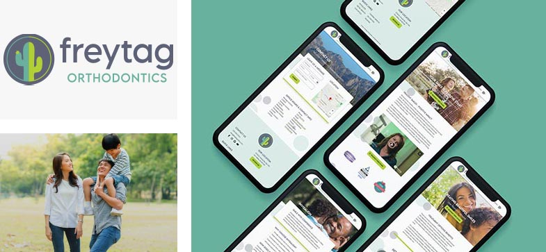 Freytag Ortho Webiste Mobile Responsive Design