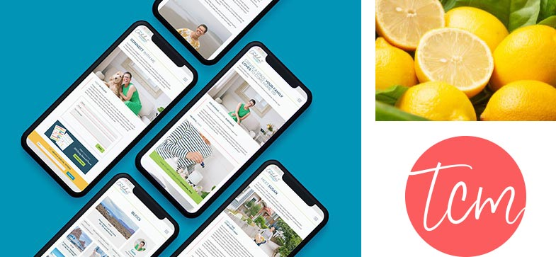 Mobile Responsive Website Influencer Design