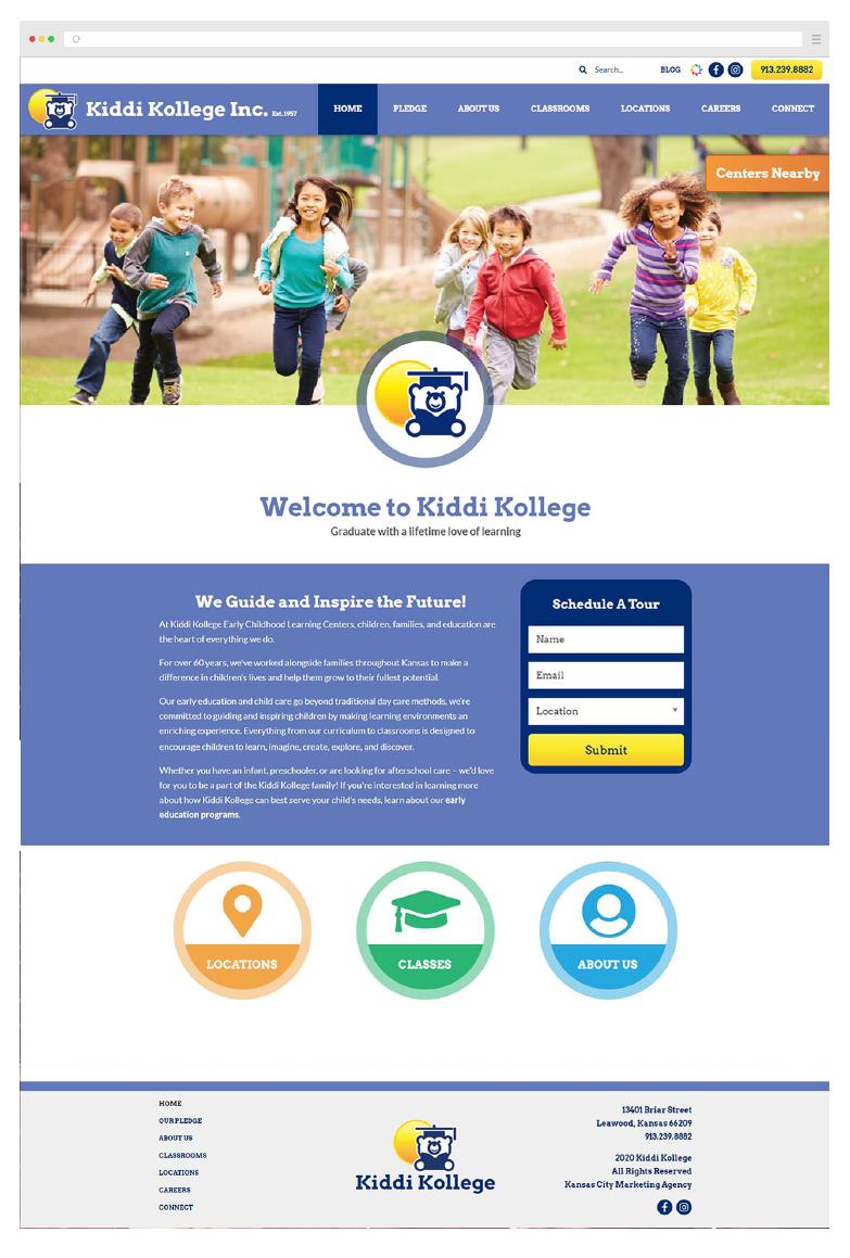 Kids Education Website Development