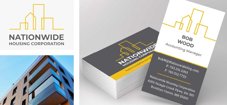 Nationwide Branding Logo Design Collateral Design