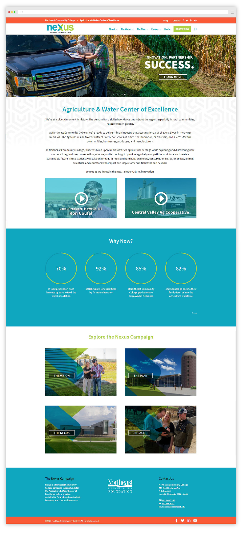 Nexus Website Development Custom Design 01